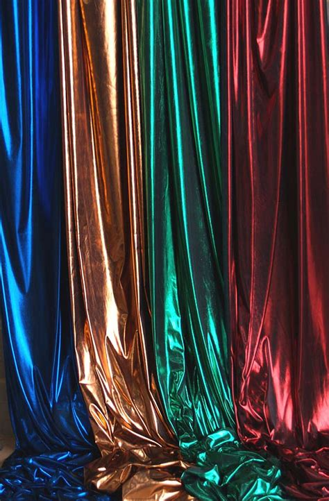 Nautical Decorations For Home Avenue Shiny Fabric 112cm Wide Display Fabrics
