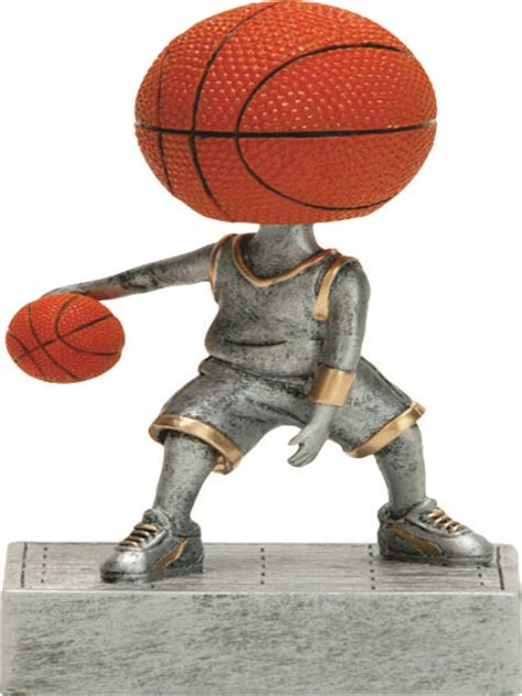 bobblehead basketball trophy basketball bobblehead resin trophy r243bskt ros trophy