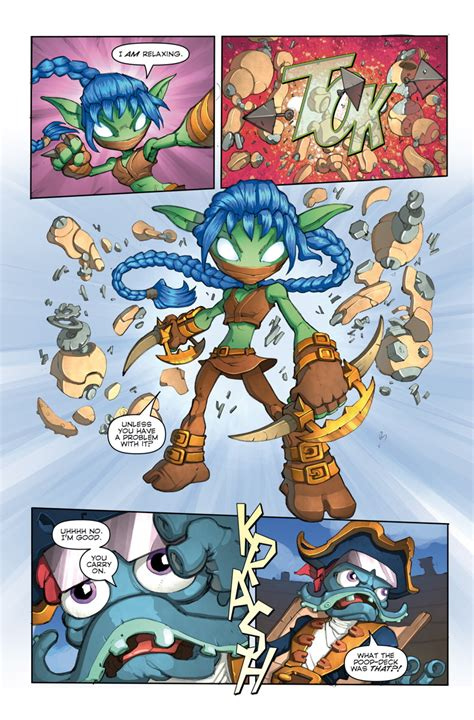 Kaos Time Zero 1 idw brings activision s skylanders to comics in zero issue