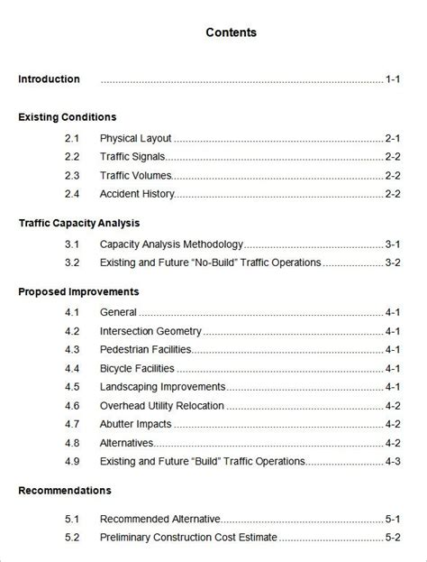 apa format table of contents exle exles of table contents 2 exle well photoshots word