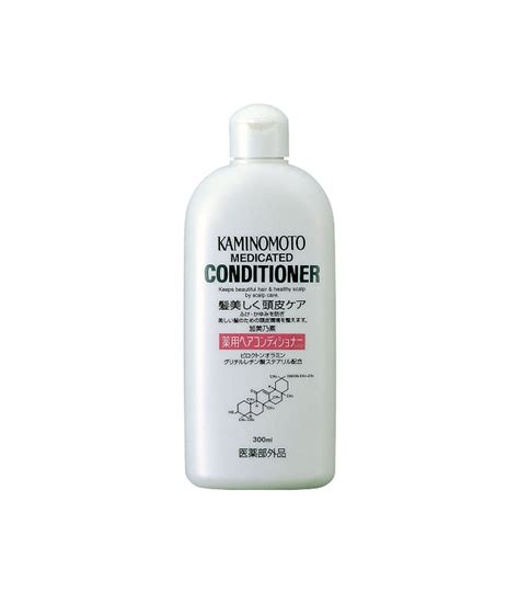 Kaminomoto Conditioner kaminomoto medicated hair conditioner b p 300ml