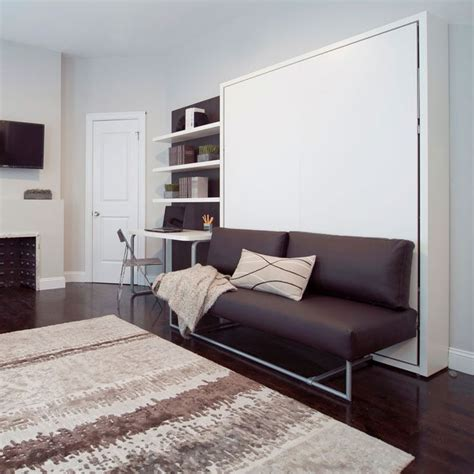 murphy beds with sofa 25 best ideas about murphy bed with couch on pinterest