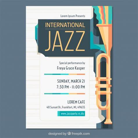 Plakat Quellenangaben by Flaches Plakat F 252 R Internationalen Jazztag Der