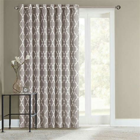sliding door drapes curtains 17 best ideas about sliding door curtains on pinterest