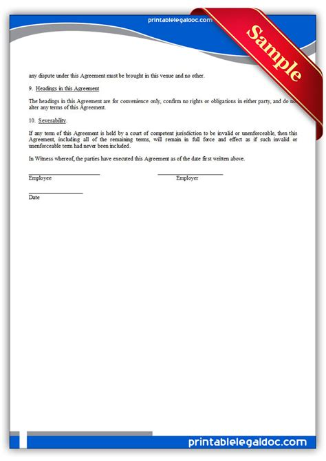 reimbursement agreement template free printable tuition reimbursement agreement form generic