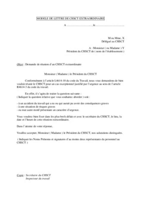 Exemple De Lettre De Démission Du Chsct lettre candidature au chsct pdf notice manuel d utilisation