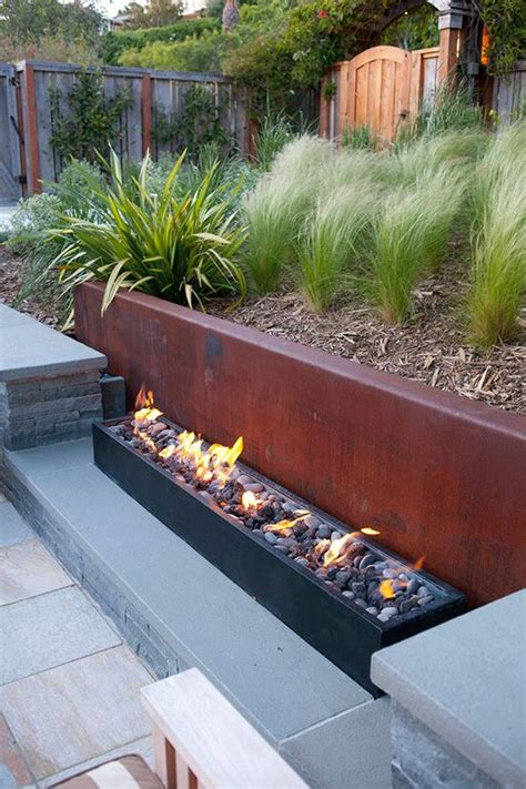 corten pit contemporary landscape and yard with pit by pete pedersen zillow digs zillow