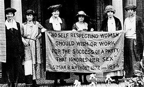 Women s suffrage movement vs women s rights movement in the 1800s
