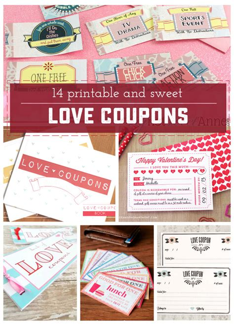 free printable vintage love coupons 14 adorable and unique printable love coupons sweet anne