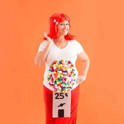 diy maternity halloween costume ideas  pregnant