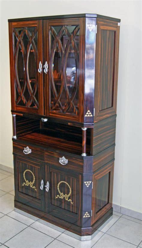 jugendstil schrank nouveau cabinet cupboard jugendstil wien vitrinen