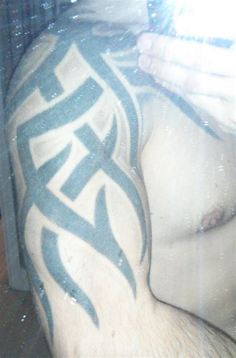 big tribal tattoo cover up big tribal cover up ideas big planet community forum