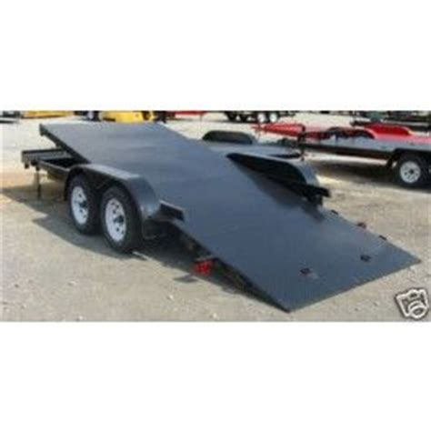 boat trailer rental georgia new 18 7000 lbs steel floor car hauler tilt bed utility