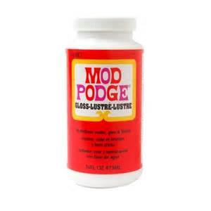 Pva Glue Decoupage - mod podge gloss glue sealer and finish for decoupage by