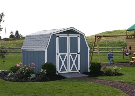 Shed Colors Paint by Painted Storage Sheds Pennsylvania Maryland