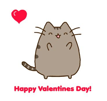 Cute Valentine Meme - happy valentines day 2014 pusheen by kamiwasa on deviantart