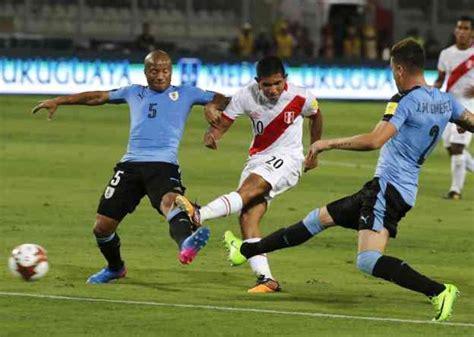 per 250 gan 243 2 1 a uruguay con goles de guerrero y flores y