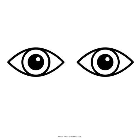 imagenes ojos para colorear dibujo de ojos para colorear ultra coloring pages