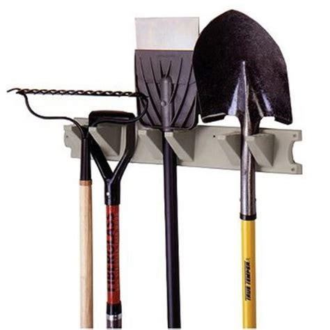 Garden Tool Hanger by Suncast 2 Handled Garden Tool Storage Garage