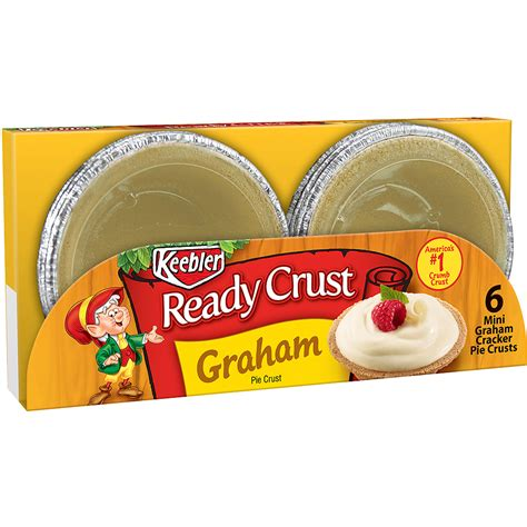 Keebler Graham Cracker Crust Keebler Fudge Stripes Mini Cookies 8ct Walmart Com