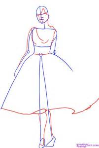 How to draw a fashion model step by step fashion pop culture free