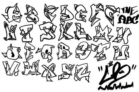 graffiti letters a z all graffiti alphabets a z graffiti letters a z in 3d g 1263