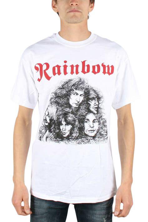 Nannercat Rainbows T Shirt For Mens rainbow mens live rock n roll t shirt in white