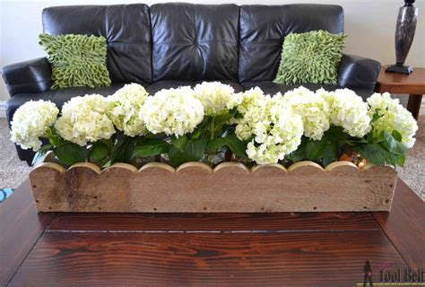 How To Build A Scalloped Planter Box Centerpiece Planter Box Centerpiece