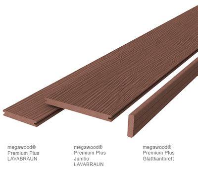 Megawood Terrasse by Terrassen Megawood Terrassendiele Premium Plus Holz Im