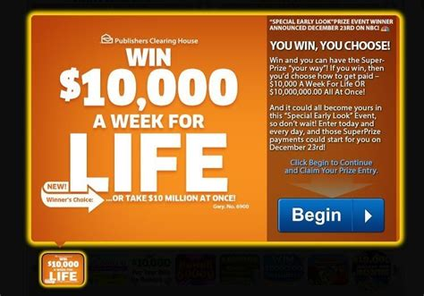 Publishers Clearing House Contest - pch sweepstakes entry form vocaalensembleconfianza nl