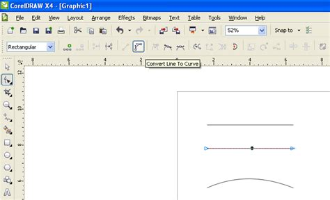 corel draw x4 join curves how to arc a straight line coreldraw x4 coreldraw