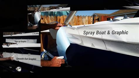 installing boat decals vinyl decal boat name installation youtube