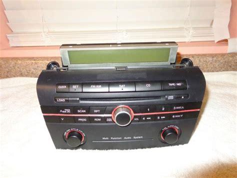 2005 mazda 3 radio buy 2005 mazda 3 radio cd player oem bn8k669ro factory oem