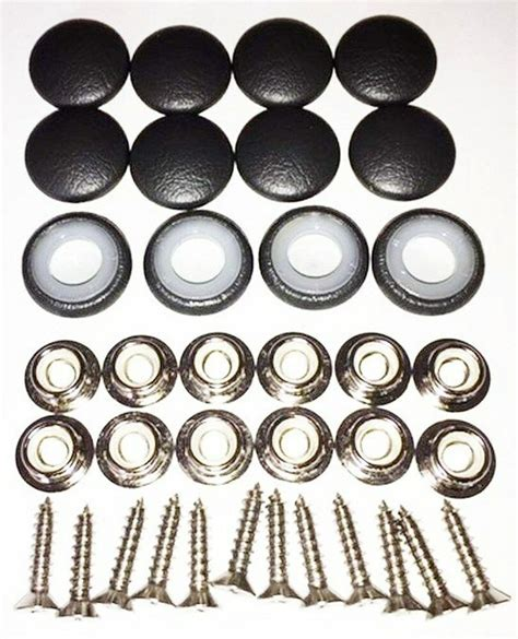 Upholstery Snap Buttons by 25 Dura Snap Upholstery Buttons Black Vinyl Choice Of Size