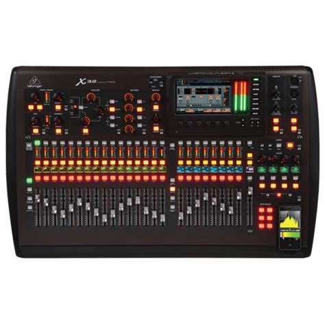 Daftar Mixer Behringer 32 Channel behringer x32 32 channel digital mixer nearly new at gear4music