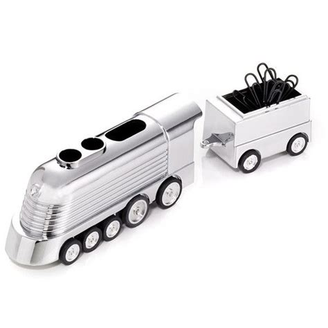 Train Desk The Troika Office Express Train Paperweight Desk Accessory