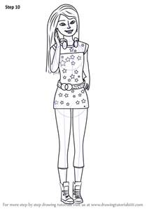 learn draw skipper barbie dreamhouse barbie dreamhouse