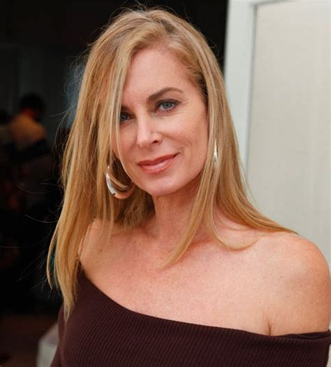 eileen davidson s hair color brown and blonde eileen davidson eileen davidson shares jeanne cooper