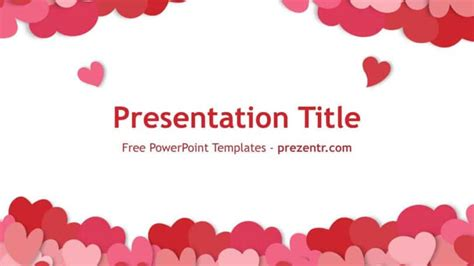 free valentines templates free happy s day powerpoint template prezentr