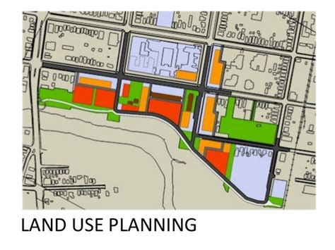 comprehensive layout definition land use planning