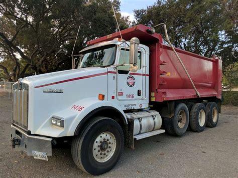 kenworth t800 dump truck 2011 kenworth t800 dump truck for sale 260 017