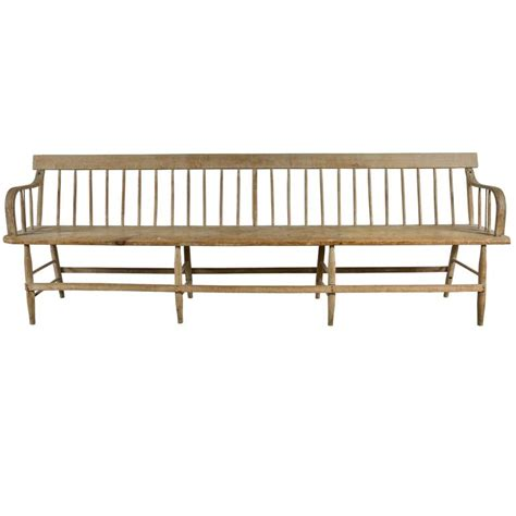 deacon s bench furniture 19th century deacon s bench at 1stdibs