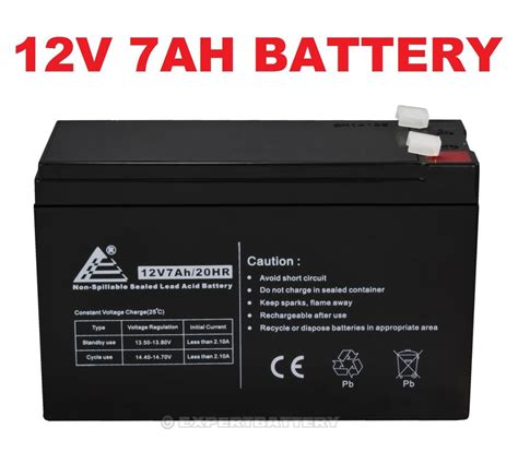 12v 7ah battery sla sealed lead acid for alarm systems