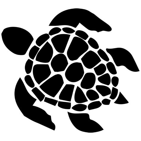 Turtle Outline Vector by Best Free Sea Turtle Outline Vector Pictures Vector Library