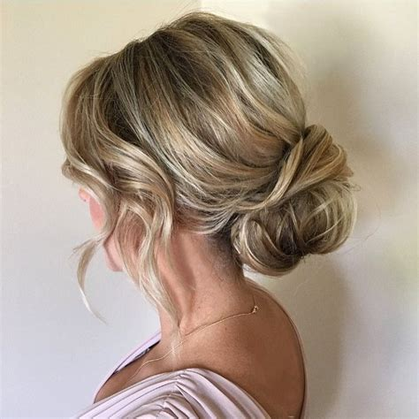 Wedding Hairstyles For Hair Low Bun by Soft And Textured Low Bun Bridal Hairstyle Updo Wedding