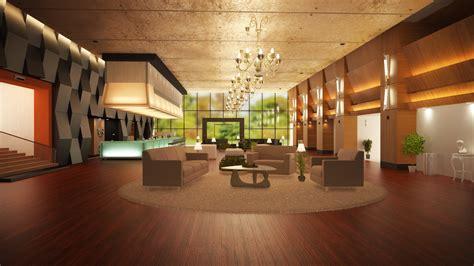 3D Model   Hotel Lobby   Stockio