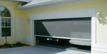 Garage Screen Door Lowes by Retractable Garage Door Screens Lowes