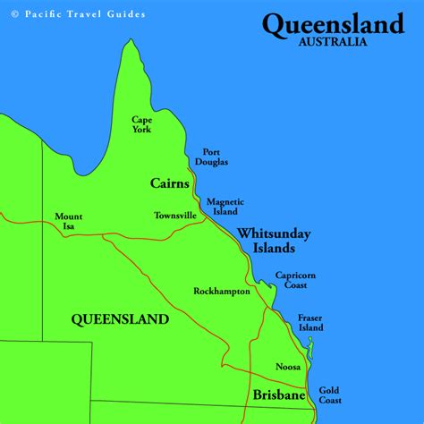 queensland australia map queensland regional map pictures map of australia region