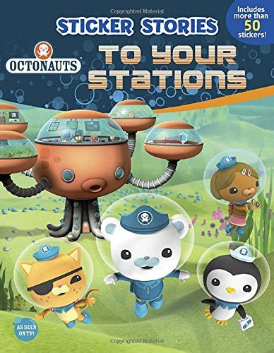 octonauts wall mural octonauts to your stations sticker stories