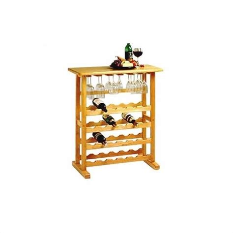 Wine Bottle Rack by Winsome Basics 24 Bottle Wood Wine Rack Ebay